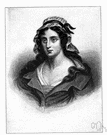 Charlotte Corday - French revolutionary heroine (a Girondist) who assassinated Marat (1768-1793)