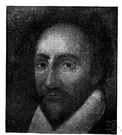 Burbage - English actor who was the first to play the leading role in several of Shakespeare's tragedies (1567-1619)