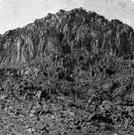 Sinai - a mountain peak in the southern Sinai Peninsula (7,500 feet high)