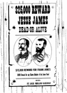 Jesse James - United States outlaw who fought as a Confederate soldier and later led a band of outlaws that robbed trains and banks in the West until he was murdered by a member of his own gang (1847-1882)