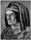 Lorenzo de'Medici - Italian statesman and scholar who supported many artists and humanists including Michelangelo and Leonardo and Botticelli (1449-1492)