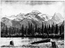 Rocky Mountains - the chief mountain range of western North America