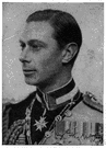 George VI - King of Great Britain and Ireland and emperor of India from 1936 to 1947