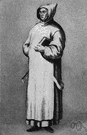 Carthusian - a member of the Carthusian order