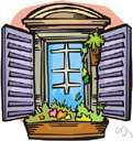 sash window - a window with (usually two) sashes that slide vertically to let in air