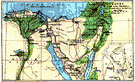 Sinai Peninsula - a peninsula in northeastern Egypt