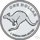 cartwheel - a dollar made of silver