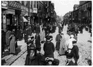 ghetto - formerly the restricted quarter of many European cities in which Jews were required to live