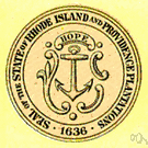 Rhode Island - a state in New England