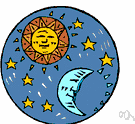 apex of the sun's way - the point on the celestial sphere toward which the sun and solar system appear to be moving relative to the fixed stars
