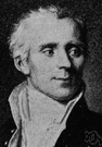 Laplace - French mathematician and astronomer who formulated the nebular hypothesis concerning the origins of the solar system and who developed the theory of probability (1749-1827)