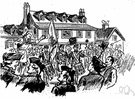 town meeting - a meeting of the inhabitants of a town