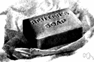 bar soap - soap in the form of a bar