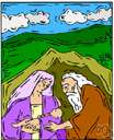 Sarah - (Old Testament) the wife of Abraham and mother of Isaac