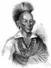 Ioway - a member of the Siouan people formerly living in Iowa and Minnesota and Missouri