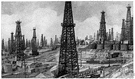 oilfield - a region rich in petroleum deposits (especially one with producing oil wells)