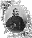 George Armstrong Custer - United States general who was killed along with all his command by the Sioux at the Battle of Little Bighorn (1839-1876)