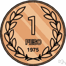 peso - the basic unit of money in Mexico