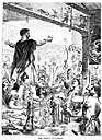 turmoil - violent agitation