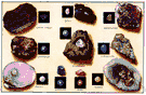 mineralogy - the branch of geology that studies minerals: their structure and properties and the ways of distinguishing them