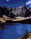 Banff - a popular vacation spot in the Canadian Rockies