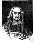 Hobbes - English materialist and political philosopher who advocated absolute sovereignty as the only kind of government that could resolve problems caused by the selfishness of human beings (1588-1679)