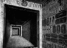 sepulcher - a chamber that is used as a grave