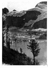 Piedmont type of glacier - a type of glaciation characteristic of Alaska