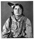 Kickapoo - a member of the Algonquian people formerly inhabiting southern Wisconsin and northern Illinois