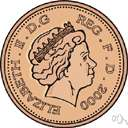 penny - a fractional monetary unit of Ireland and the United Kingdom