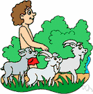 goatherd - a person who tends a flock of goats