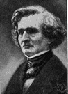 Hector Berlioz - French composer of romantic works (1803-1869)