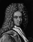 Defoe - English writer remembered particularly for his novel about Robinson Crusoe (1660-1731)