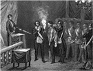 Freemason - a member of a widespread secret fraternal order pledged to mutual assistance and brotherly love