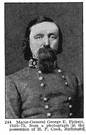 George Edward Pickett - American Confederate general known for leading a disastrous charge at Gettysburg (1825-1875)
