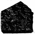 porphyritic rock - any igneous rock with crystals embedded in a finer groundmass of minerals