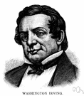 Washington Irving - United States writer remembered for his stories (1783-1859)