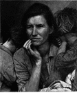 Lange - United States photographer remembered for her portraits of rural workers during the Depression (1895-1965)