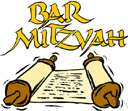 mitzvah - (Judaism) a precept or commandment of the Jewish law