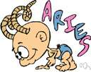 Aries - (astrology) a person who is born while the sun is in Aries