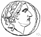 Seleucus I - Macedonian general who accompanied Alexander the Great into Asia