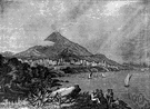 Mount Etna - an inactive volcano in Sicily