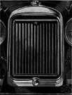 radiator grille - grating that admits cooling air to car's radiator