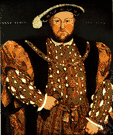 Henry VIII - son of Henry VII and King of England from 1509 to 1547