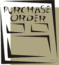 order - a commercial document used to request someone to supply something in return for payment and providing specifications and quantities