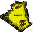 Blida - a city in northern Algeria at the foot of the Atlas Mountains to the southwest of Algiers