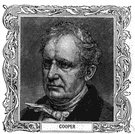James Fenimore Cooper - United States novelist noted for his stories of American Indians and the frontier life (1789-1851)