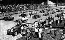 racing start - the start of a race
