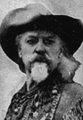 Buffalo Bill Cody - United States showman famous for his Wild West Show (1846-1917)