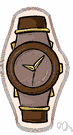 analog watch - a watch that represents time by the position of hands on a dial